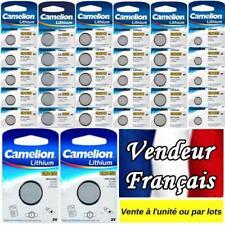 Pile/battery bouton Camelion 3V Lithium CR2032 CR2025 CR2016 CR1632 CR1220