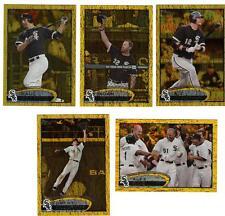 2012 Ser 1 Topps Chicago White Sox GOLD Team Set Konerko Addison Reed Dunn 11