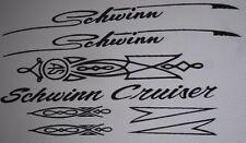 Schwinn Cruiser Decal Set A1