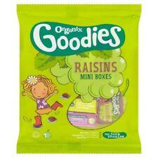 Organix Goodies Raisins - Mini Boxes 12 x 14g