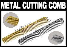Professional Barber Metal Aluminium Cutting Comb  * * * UK SELLER * * *
