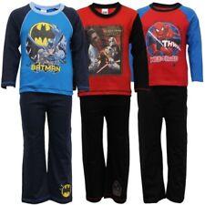 pyjama garçon ensemble pour enfants BATMAN SPIDERMAN imprimé
