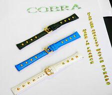 Reloj Correa De Cuero 14mm de alta calidad de cuero correa de reemplazo señoras