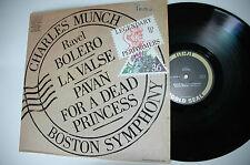 33RPM Jazz Vinyl Ravel Bolero- Charles Munch Boston Symphony RCA 120612LAE