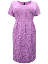 Ivans ladies Midi Dress plus size 26/28 paisley print jersey stretch