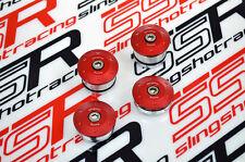 Kawasaki Ninja 250 250R EX250 R Billet Aluminum Hole Frame Plug Cap Cover Set
