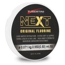 Linea TUBERTINI NEXT fluorocarbonio - (tutte le taglie) Coarse Pesca 50 M