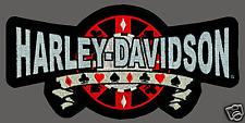 HARLEY DAVIDSON BIG CHIP  PATCH  XXL 10 INCH