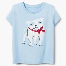 NWT Gymboree Dog Tee Shirt Top Girls Blue