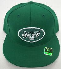 1b184473018 NFL New York Jets Reebok Cap Fitted Flat Brim Hat NEW