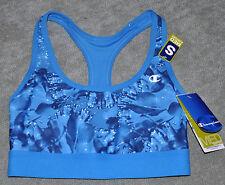 CHAMPION SPORT BRA TOP #6715 Aqua Blue New Absolute workout II compression Small