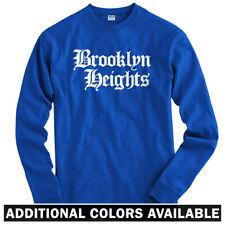 Brooklyn Heights Gothic NYC Long Sleeve T-shirt LS - Nets New York - Men / Youth