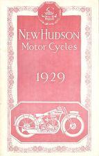 1929 NEW HUDSON CATALOG