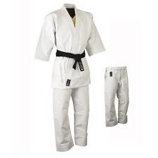 Playwell KARATE 16oz Heavyweight uniforme Bianco Adulti studenti GI ARTI MARZIALI