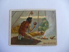 TOBACCO CARDS HASSAN CORK TIP CIGARETTES INDIAN LIFE INDIAN MEDICINE MAN