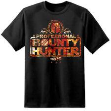 Mens Bobba Fett Bounty Hunter camiseta Profesional S-3XL Jedi De Star Wars el último
