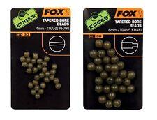 Fox edges tapered bore beads perlas para pescar bead beads perlas carpfishing