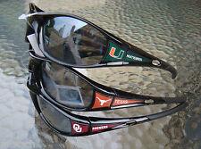 NCAA Sunglasses Official licensed Wrap Black Frame ( TEAM # A )