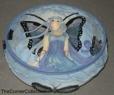 Meredith Dillman Blue Diadem Fairy Trinket Jewelry Box