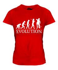 CROSSBOWMAN EVOLUTION LADIES T-SHIRT TEE TOP GIFT CROSSBOW COSTUME