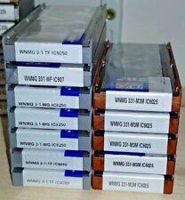 10 x Iscar WNMG Wendeschneidplatten Double-sided Trigon carbide inserts