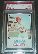1975 HOSTESS TWINKIES #29 PETE ROSE HAND CUT PSA 9 POP 1/7  POP 7