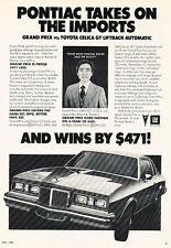 1980 Pontiac Grand Prix - 471 - Classic Vintage Advertisement Ad D29