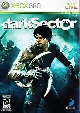 Dark Sector (Microsoft Xbox 360, 2008) VERY GOOD