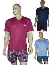 Herren Shorty  Schlafanzug  Pyjama  kurz  trendig Gr. M-XXXL