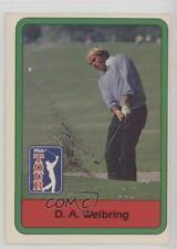 1982 Donruss Golf Stars #45 DA Weibring D.A. Card