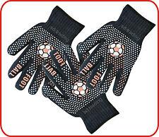 Pied boule hiver gripper magie noire gants unisexe taille unique wholesale 6,12,36,48