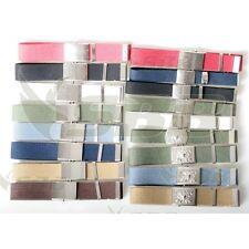 Cintura militare fibbia liscia altezze, colori e lunghezze varie made in Italy