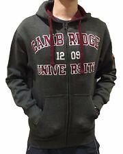 Official Cambridge University Zip Hoodie - Charcoal