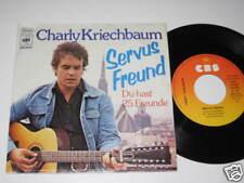"""7""""/CHARLY KRIECHBAUM/SERVUS FREUND/ 4628/MEGARAR"""