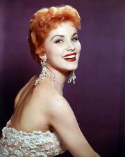 Debra Paget Striking Red Hair Studio Glamour Pose Circa 1955 Poster or Photo