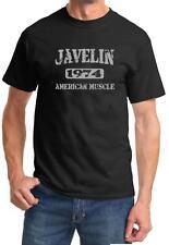 1974 AMC Javelin American Muscle Car Color Design Tshirt NEW Free Ship