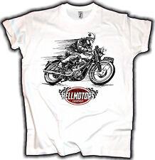 Biker T-Shirt Cafe Racer Motorrad Chopper Oldschool Retro Oldtimer Hotrod Race
