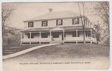 Hillside Cottage Northfield Academy East Northfield Ma Udb Postcard