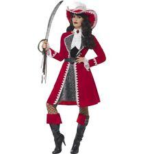 Piratin Kostüm deluxe Piratenkostüm Damen Musketier Damenkostüm Piratenbraut