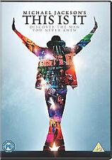 Music DVD - Michael Jackson - This Is It
