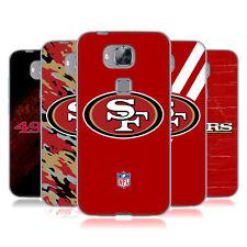 Ufficiale NFL San Francisco 49ers LOGO Soft Gel Custodia per Telefoni HUAWEI 2