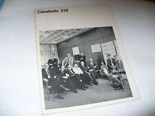 CASABELLA 318 1967 RIVISTA ARCHITETTURA URBANISTICA