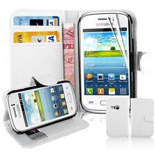 Schutz Hülle für Samsung Galaxy Young S6310 Handy Brieftasche Flip Case Cover