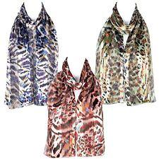 Filles écharpe en mousseline de satin foulard châle