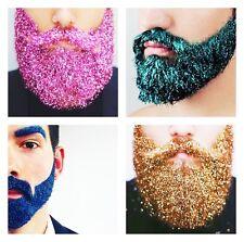 1x Glitter Beards Moustache Eyebrows Skin Hair Music Festival Party Rave 50g UK