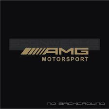 AMG Motorsport Decal Sticker Mercedes Benz Racing Pair