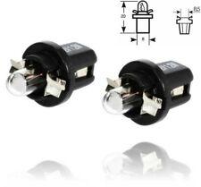 White light B8.5 Car Dashboard Dash Speedo Indicator Gauge Side Interior Bulbs