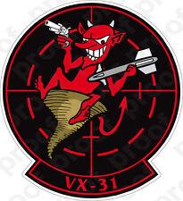 STICKER USN VX 31 Dust Devils