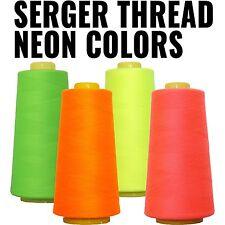 NEON COLORS SERGER THREAD 2750 40/2 TEX 27 - THREADART