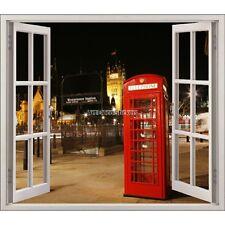 Adesivo finestra decocrazione Londra cabina telefonica ref 5420 5420